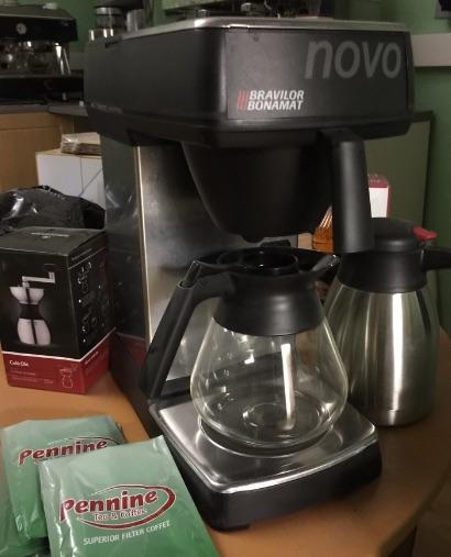 Pennine Tea and Coffee Bravilor Novo 2